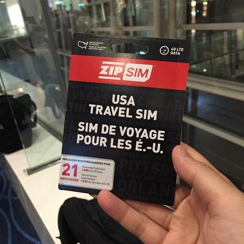 ホノルルに行ったので「ZIP SIM」を使ってみた